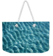 Blue Ripples Weekender Tote Bag