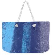 Blue Road Weekender Tote Bag
