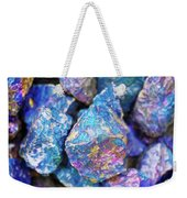Blue Rocks Hold Weekender Tote Bag