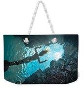 Blue Room Weekender Tote Bag