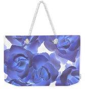 Blue Roses Weekender Tote Bag