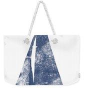 Blue Sail Boat- Art By Linda Woods Weekender Tote Bag