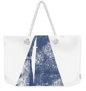 Blue Sail Boat- Art By Linda Woods Weekender Tote Bag