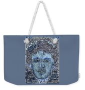 Blue Self Portrait Weekender Tote Bag