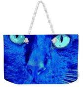 Blue Shadows Weekender Tote Bag