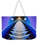 Blue Shift Weekender Tote Bag