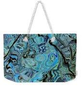 Blue Shimmers Weekender Tote Bag
