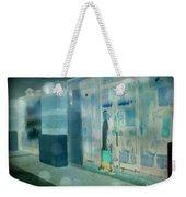 Blue Shopper Weekender Tote Bag