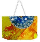 Blue Shower Head Weekender Tote Bag