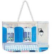Blue Shutters Arles France Weekender Tote Bag