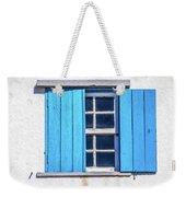 Blue Shutters Of Peniche Weekender Tote Bag