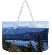 Blue Sierra Lake Weekender Tote Bag