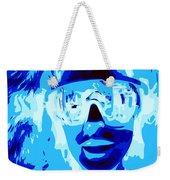 Blue Skier Bob Weekender Tote Bag