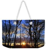 Blue Skies And Golden Sun Weekender Tote Bag
