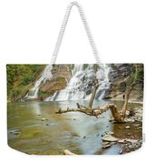 Blue Skies Over Ithaca Falls Weekender Tote Bag