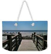 Blue Sky And Beautiful Beach Weekender Tote Bag