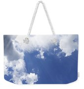 Blue Sky And Cloud Weekender Tote Bag