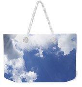 Blue Sky And Cloud Weekender Tote Bag by Setsiri Silapasuwanchai