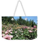 Blue Sky And Roses Weekender Tote Bag