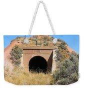 Blue Sky Black Tunnel Weekender Tote Bag