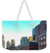 Blue Sky Boston Weekender Tote Bag