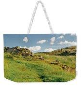 Blue Sky Of Holyrood Walk. Weekender Tote Bag