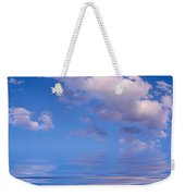 Blue Sky Reflections Weekender Tote Bag