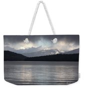 Blue Sky Through Dark Clouds Weekender Tote Bag