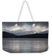 Blue Sky Through Dark Clouds Weekender Tote Bag