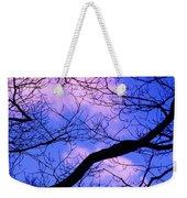 Blue Sky Through The Trees Weekender Tote Bag