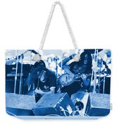 Blue Skynyrd Smoke Weekender Tote Bag