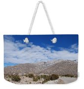 Blue Skys Over The Sandias Weekender Tote Bag