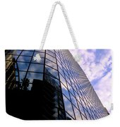 Blue Skyscrapper With A Blue Sky In New Orleans Louisiana Weekender Tote Bag