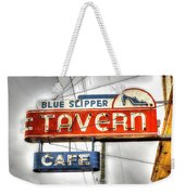 Blue Slipper Weekender Tote Bag