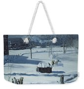 Blue Snow, The Battery Weekender Tote Bag
