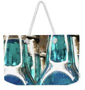 Blue Soda Abstract Weekender Tote Bag