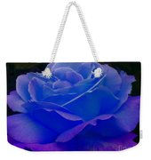 Blue Softness Weekender Tote Bag