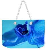 Blue Solitude Weekender Tote Bag