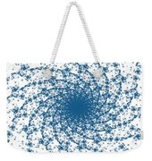 Blue Spins Weekender Tote Bag