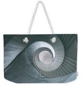 Blue Spiral Stairs Weekender Tote Bag