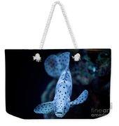 Blue Spotted Aquarium Fish Weekender Tote Bag