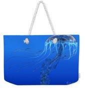 Blue Spotted Jellyfish Weekender Tote Bag