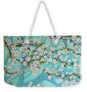 Blue Spring Weekender Tote Bag
