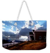 Blue Springs Landscape Weekender Tote Bag