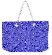 Blue Star Janca Abstract Weekender Tote Bag