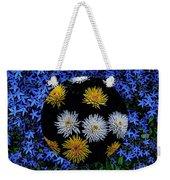 Blue Star Universe Weekender Tote Bag