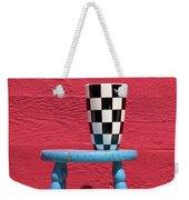 Blue Stool Weekender Tote Bag