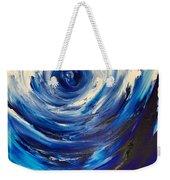 Blue Storm Weekender Tote Bag
