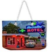 Blue Swallow Motel Weekender Tote Bag