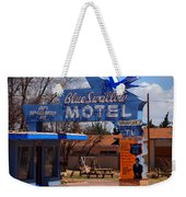 Blue Swallow Motel On Route 66 Weekender Tote Bag